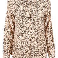 Earl Cheetah Blouse L
