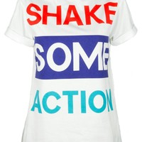 Shake Some Action Oversize Tee