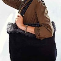 Ecote Reversible Shearling Tote Bag - Urban Outfitters