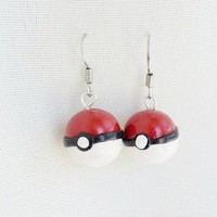 Pretty Pastels ಌ  | Pokemon Ball Earrings | Powered by Storenvy