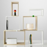 Stacked Shelf Module Small, pine - Bookcases - Furniture - Finnish Design Shop