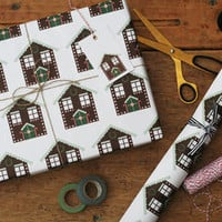 Gingerbread House Wrapping Paper