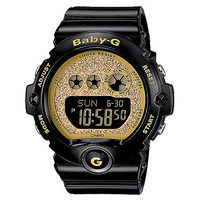 G-Shock Baby-G BG6900SG-1 Super Glitter Black & Gold Watch