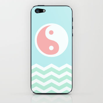 Sun Moon Lake iPhone & iPod Skin by BeautifulHomes