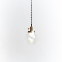 "Custom glass pendant light ""The 210"""