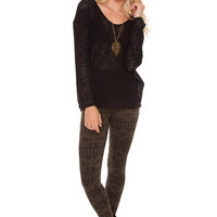 Cairo Leggings - Brown
