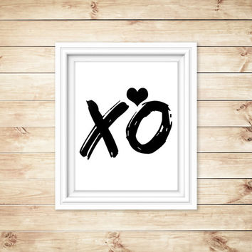 XO Quote, Beyonce, Beyonce Quote, Black and White quote, Typographic Art, Typographic Print, Typography, Dorm Decor, Home Decor
