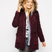 Bellfield Parka Coat at asos.com