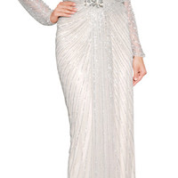 Jenny Packham - Jeweled Evening Gown