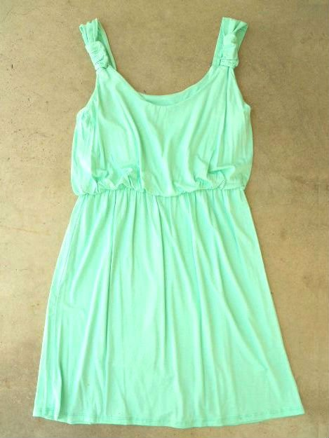 A Lovely Summer Dress in Mint [2704] - $32.00 : Vintage Inspired Clothing &amp; Affordable Summer Dresses, deloom | Modern. Vintage. Crafted.