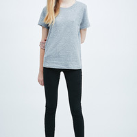 BDG Basic Tee in Grey - Urban Outfitters