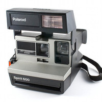 WORKING Vintage Polaroid Camera Spirit 600 Retro Hipster Instant Photo