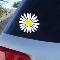 Daisy Car Window Decal | Flower Car Window Decal | Flowers