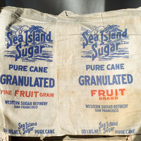 Vintage Sea Island Sugar Sacks
