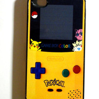 Pokemon Gameboy  iphone 4 case, iphone case,  iphone 4s case, iphone 4s, iphone 4 cover, iphone hard case,  iphone 4, iphone