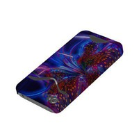 Electric Tiger Lily Id Iphone 4 Case from Zazzle.com