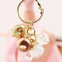 New Arrival fashion TOP Unique design Gold Tone Bead Leverback Earrings