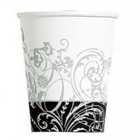 Silhouette Black and White Party Cups - 1920s Gangster Party Theme - Party Themes - Adult Occasions
