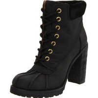 Lucky Women`s Laverne Boot,Black,5.5 M US