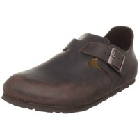 Birkenstock Women`s London Slip-On,Habana Oiled Leather,36 M EU