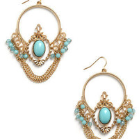She Wore Blue Earrings | Mod Retro Vintage Earrings | ModCloth.com