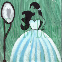 Wild Ivy Design | Lady of Winter 8x10 painting *ON SALE* | Online Store Powered by Storenvy