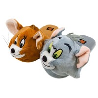 Tom & Jerry - Big Face Plush Slippers