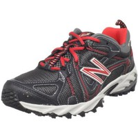New Balance Women`s WT573 Trail Running Shoe,Black/Red,7.5 B US