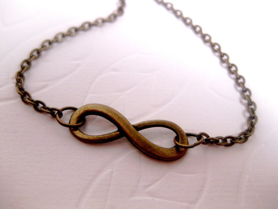 Always And Forever Infinity Necklace