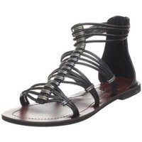 Report Women`s Hartley T-Strap Sandal,Black,8.5 M US