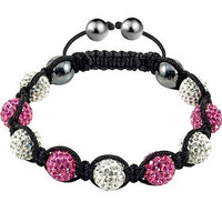 New Shamballa Bracelets Micro Pave CZ Disco Ball Beads 03