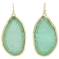 Kirra Tate Graduate Green Earrings