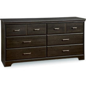 Walmart: South Shore Versa Double 6-Drawer Dresser, Ebony