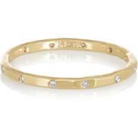 Melissa Joy Manning - 14-karat gold diamond ring