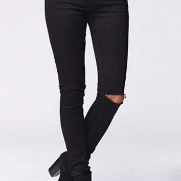 Cheap Monday Prime Slit Knee Skinny Jeans at PacSun.com