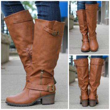 Calling of Harvest Boot - Cognac - COGNAC /