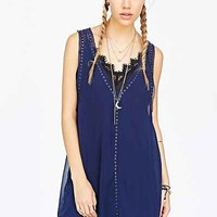 Pins And Needles Zoe Georgette Garment Tank Dress - Urban Outfitters