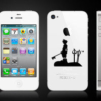 Kingdom Hearts  Iphone 4 Vinyl Decal