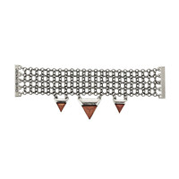 Wolves Within - JENNY BIRD WOODEN PYRAMID BRACELET | WOLVES WITHIN SHOP BROOKLYN