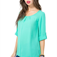 Everyday Pleated Blouse