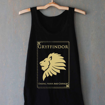 Gryffindor Shirt Harry Potter Shirts Top Tank Top Tee Tunic Singlet Women - Size S M L