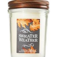 Mason Jar Candle Sweater Weather