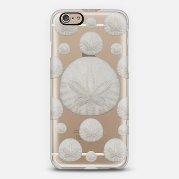 Sand Dollars Transparent iPhone 6 case by Lisa Argyropoulos | Casetify