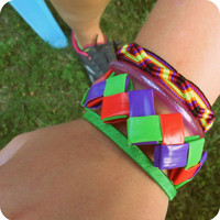 Fun Zigzag Neon Bangle in Wildberry Blast - Ziggibandz