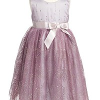 Zunie Glitter Tulle Dress (Toddler Girls & Little Girls) | Nordstrom