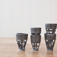 Structured Shot Glasses