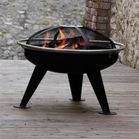 Urban Safety Firepit and BBQ