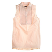 PLEATED BIB TOP