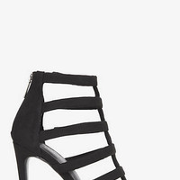 HEELED RUNWAY CAGE SANDAL from EXPRESS