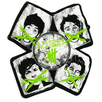 5 Seconds Of Summer Derping Sticker